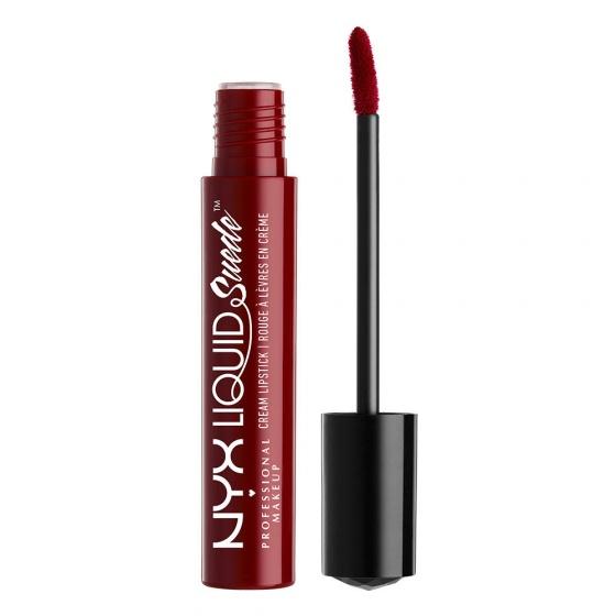 Son lì dạng kem NYX Liquid Suede Cream Lipstick LSCL03 Cherry Skies