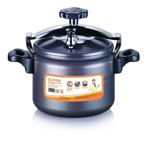 Nồi áp suất oxy hóa cứng Supor Ever  YGH22 - 22cm KHÔNG DÙNG TRÊN BẾP TỪ
