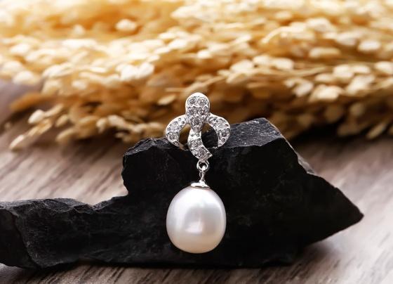 Bộ trang sức bạc ngọc trai Snowy Wish - Eropi Jewelry