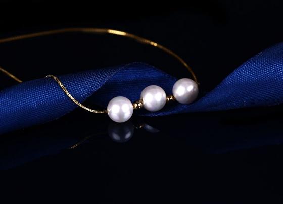 Dây chuyền bạc White Pearls - Eropi Jewelry