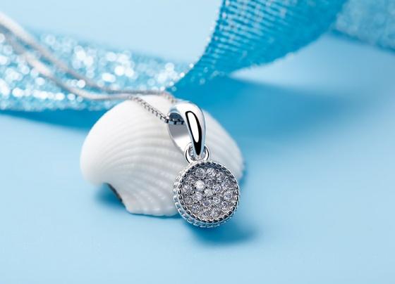 Mặt dây chuyền bạc Michelle - Eropi Jewelry