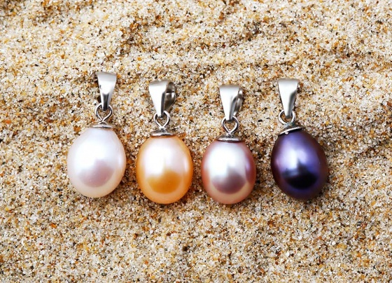Mặt dây chuyền bạc ngọc trai Rachel Love - Eropi Jewelry