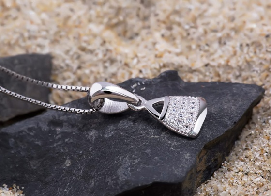 Mặt dây chuyền bạc Madeline - Eropi Jewelry
