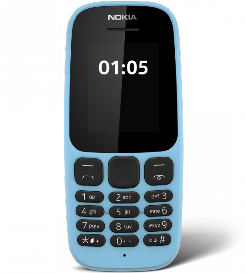 Nokia 105 Single sim (2017) - Xanh