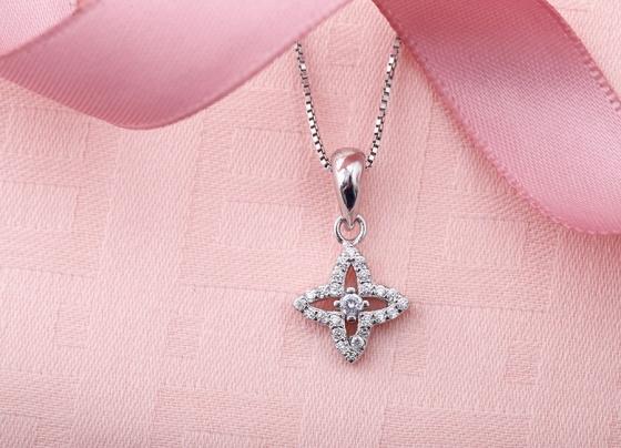 Mặt dây chuyền bạc Wonder Flower - Eropi Jewelry