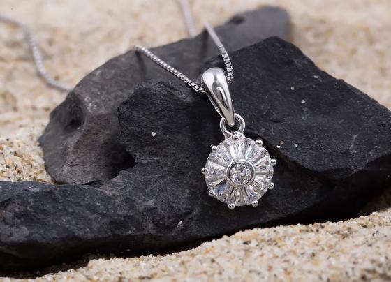 Mặt dây chuyền bạc Avery - Eropi Jewelry