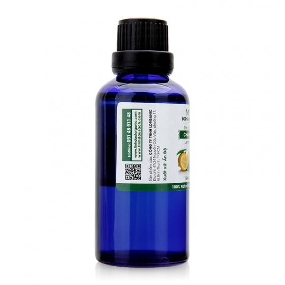 Tinh dầu vỏ chanh nguyên chất Lorganic 50ml .