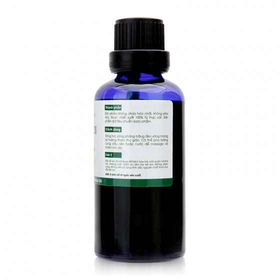 Tinh dầu vỏ bưởi nguyên chất Lorganic 50ml (chai lớn)