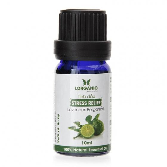 Combo tinh dầu hợp hương Lorganic Stress Relife thư giãn và Sensual gợi cảm 10ml