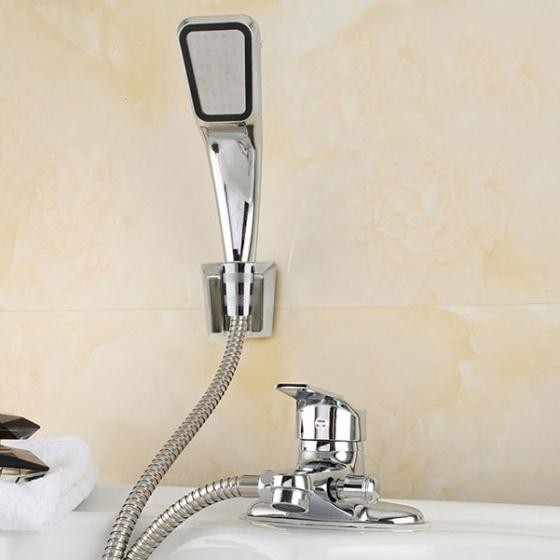 Bộ vòi chậu lavabo kết hợp sen tắm nóng lạnh Zento ZT 2042