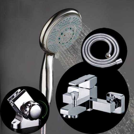 Bộ sen tắm nóng lạnh 5 chế độ nước Zento ZT6099