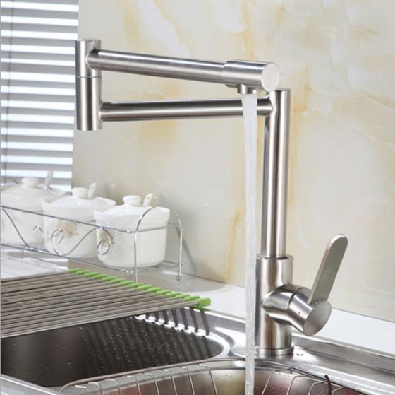 Bộ vòi rửa bát nóng lạnh inox 304 Zento SUS5568-1