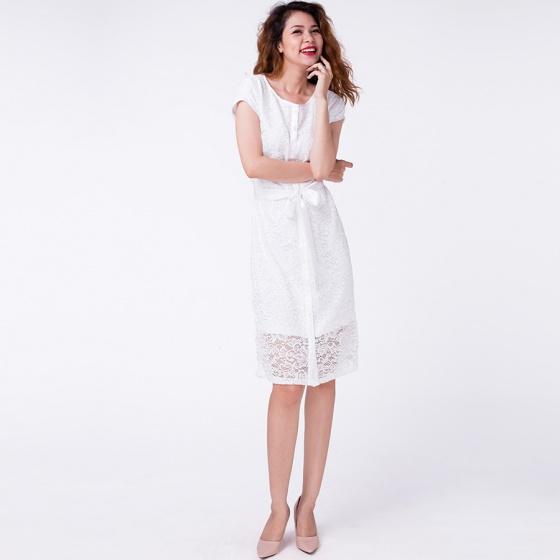 Đầm ren vintage Hity DRE045 (trắng blanc)