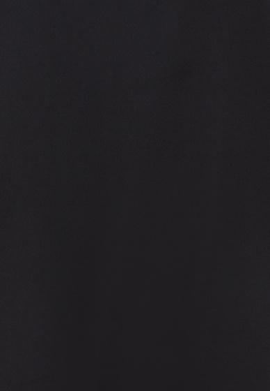 Đầm midi voan Amun sát nách vạt chéo thắt dây nơ tay màu đen  DMI111-DEN