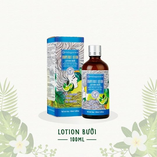 Lotion bưởi Milaganics 100ml