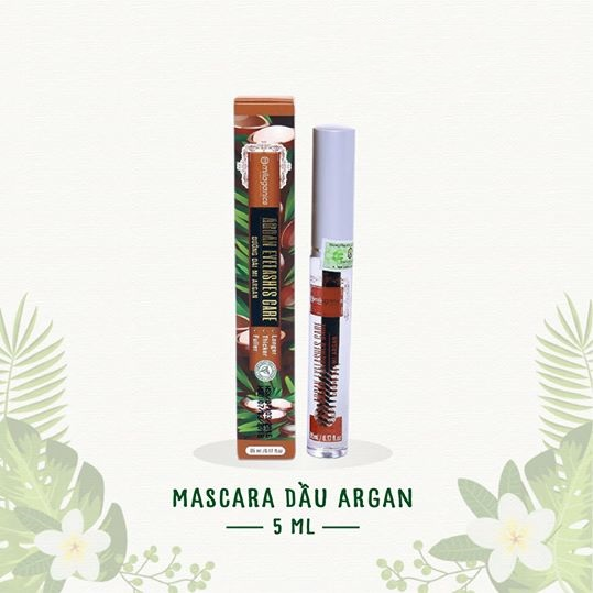 Mascara dầu argan Milaganics 5ml