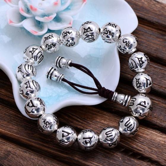Lắc tay nam bạc Thái 925 cao cấp Hadosa