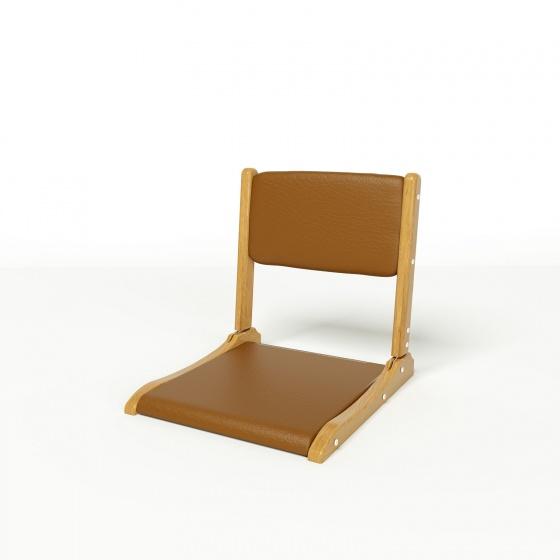 Ghế bệt cao cấp Pisu màu nâu - IBIE