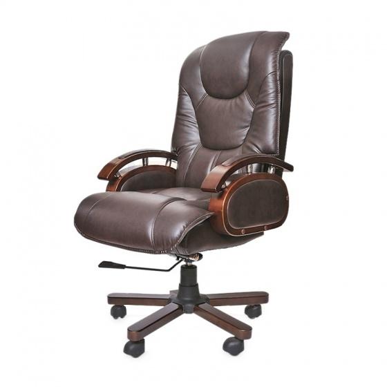 Ghế da Giám đốc IB316 chân gỗ  - IBIE