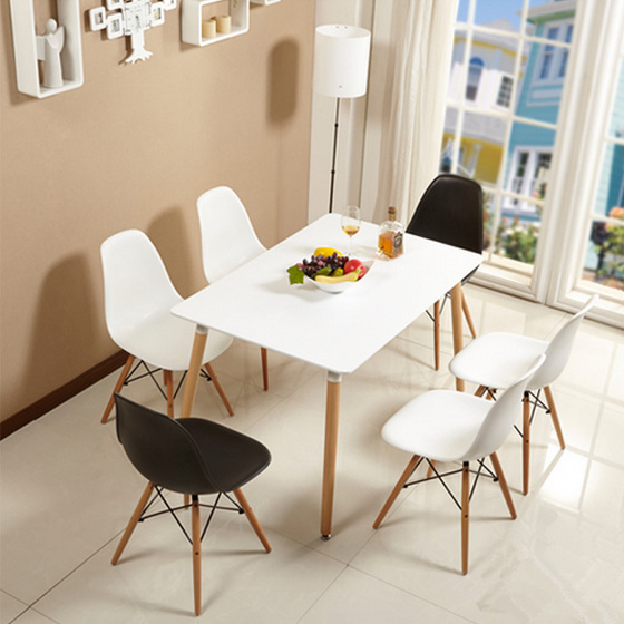 Bộ bàn Veron trắng 4 ghế - IBIE
