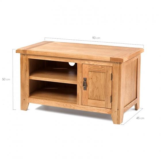 Tủ tivi 1 cánh IBIE Rustic gỗ sồi
