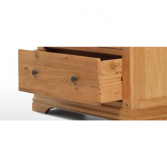 Tủ trưng bày 2 cánh kính Victoria gỗ sồi - IBIE