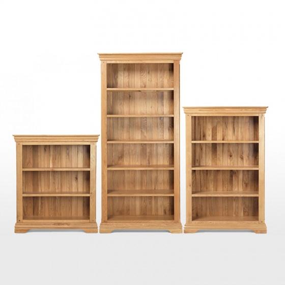 Tủ sách 4 tầng Victoria gỗ sồi - IBIE