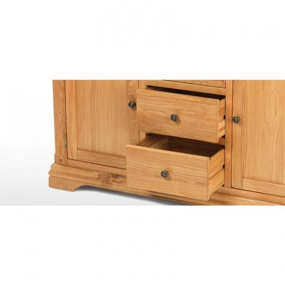 Tủ trữ đồ 3 cánh Victoria gỗ sồi - IBIE