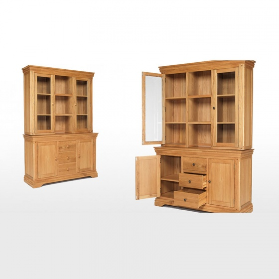 Tủ bếp 3 cánh Victoria gỗ sồi - IBIE