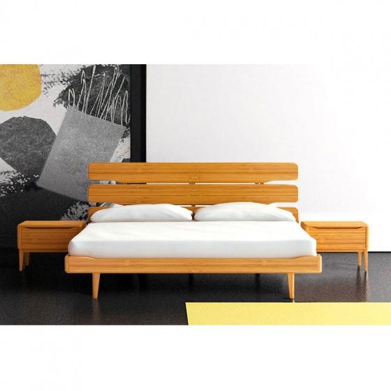 Giường đôi IBIE Tentai gỗ sồi 1m6