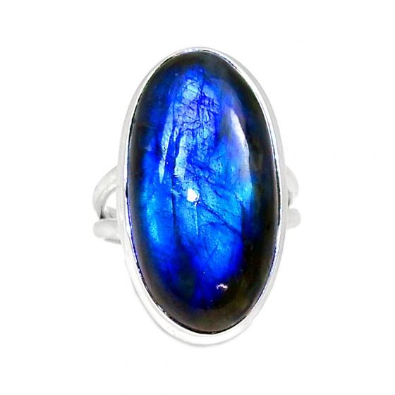Nhẫn đá xà cừ cao cấp Hadosa bạc 925