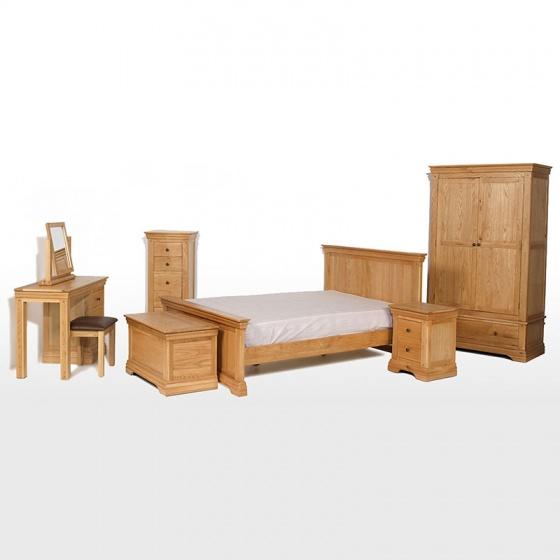 Tủ đầu giường Victoria 2 ngăn gỗ sồi - IBIE