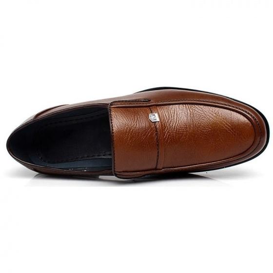 Giày tây nam Zapas dáng xỏ - GT003 (nâu)