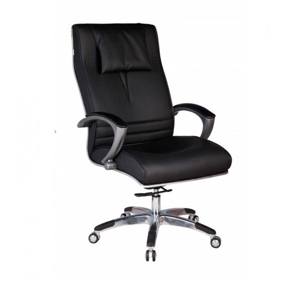 Ghế Giám đốc IB004 2 cần chân hợp kim nhôm cao cấp màu đen