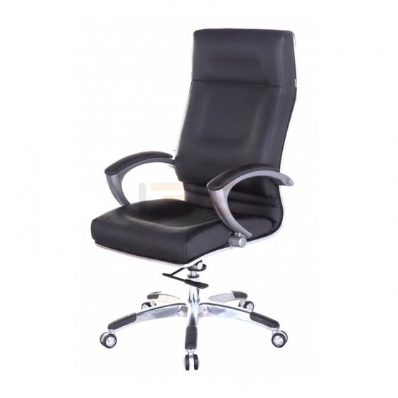 Ghế Giám đốc IB005 2 cần chân hợp kim nhôm cao cấp màu đen