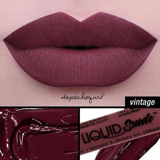 Son lì dạng kem NYX Professional Makeup Liquid Suede Cream Lipstick LSCL12 Vintage