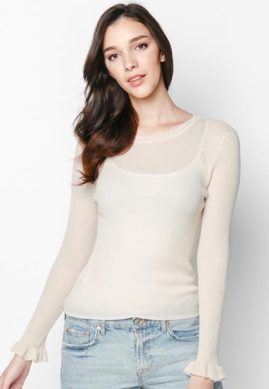 Áo len ánh kim tay bèo - Mimi