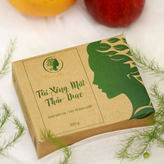 Túi xông mặt thảo dược Wonmom