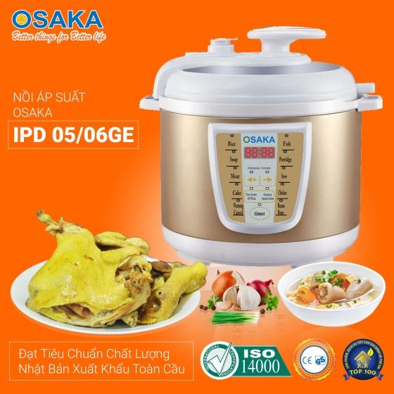 Nồi áp suất Osaka IPD-05GE dung tích 5 lít