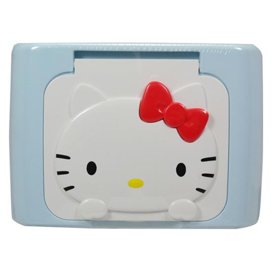 Hộp giấy ướt phấn LEC Hello Kitty E345 42 tờ