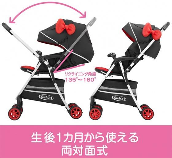 Xe đẩy trẻ em Graco CitiLiteR UP Hello Kitty BK