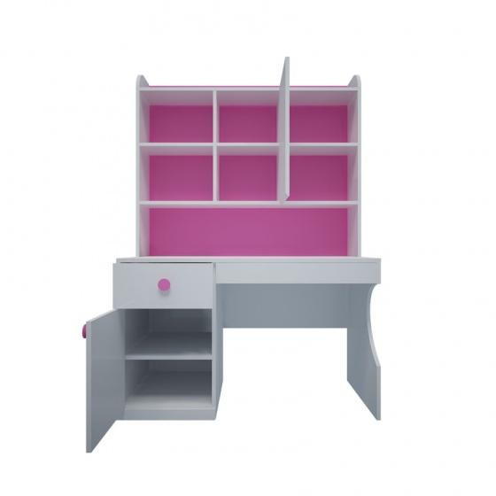 Bộ bàn học có giá sách hình Hello Kitty 1m2 - Ibie