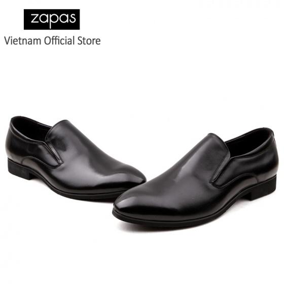 Giày tây tăng chiều cao 5 cm GH010 (Đen)