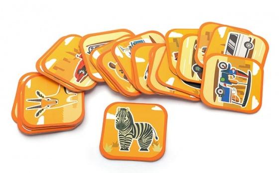 Thẻ học ngoại ngữ 96 hình 3D Ekidar