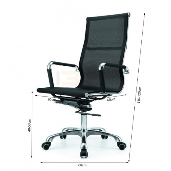 Bộ bàn Rec-F đen gỗ cao su và ghế IB16A đen