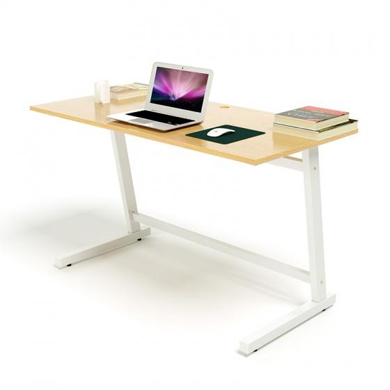Bộ bàn Oak-Z trắng và ghế IB16A đen