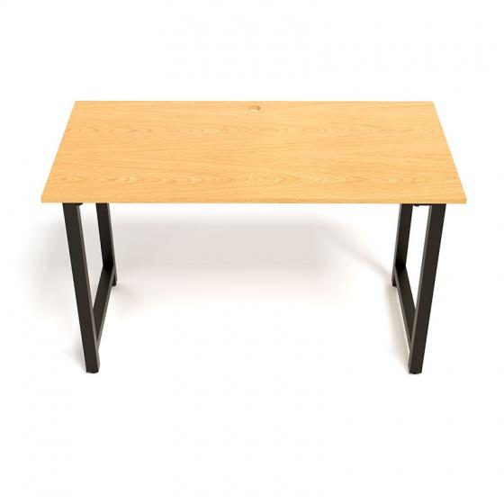 Bộ bàn Oak-T đen và ghế IB505 có tay đen