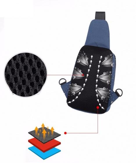 Túi đeo chéo thời trang Haras HRS083 (xanh)