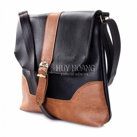 Túi đeo Ipad Huy Hoàng màu đen HV6151