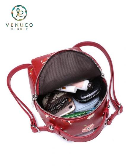 Balo chéo màu đỏ Venuco Madrid R04B195